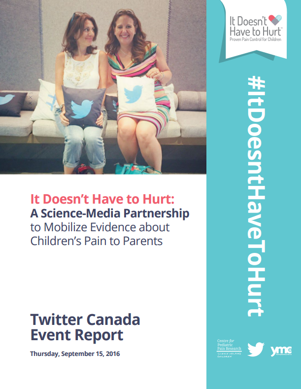 It Doesnt Have To Hurt Twitter Canada Report