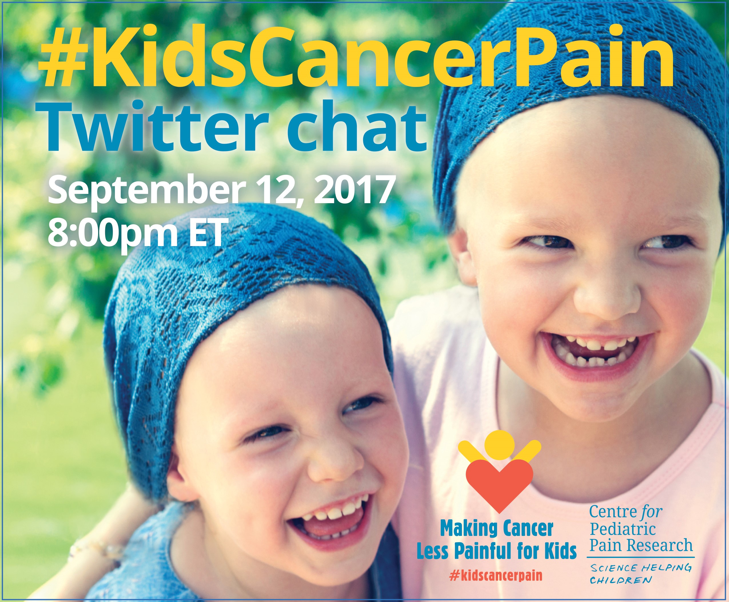 #KidsCancerPain Twitter Chat
